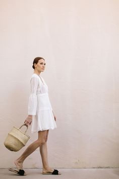 Ring them bell sleeves this spring with these sweet sundresses.