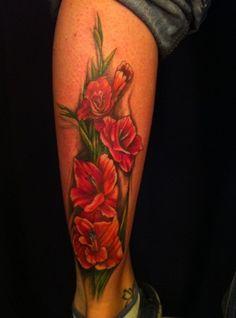 Images of gladiolus tattoo gladiolas tattoo, gladiolus flower tattoos, leg tattoos, rose tattoos Rose Tattoos, Leg Tattoos, Tattoos For Guys, Sleeve Tattoos, Tattoo Hip, Floral Tattoos, Gladiolas Tattoo, Gladiolus Flower Tattoos, August Flower Tattoo