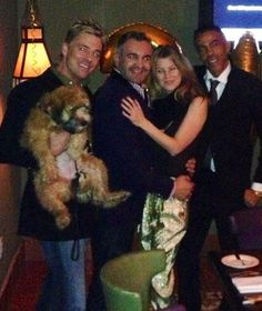 Another Fab Memory from last night w/ Daisy Dog, Ellen Pompeo, Chris Ivery & Michael Green!