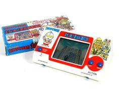80s Retro Bandai LCD Game Ultraman Club Fight Against Aliens Boxed MIJ #Bandai