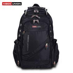 MAGIC UNION Brand Design Men s Travel Bag Man Backpack Polyester Bags  Waterproof Shoulder Bags Computer Packsack 5d86de2ffc
