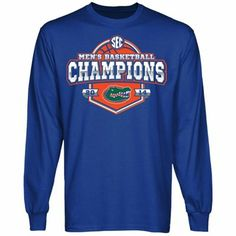 Florida Gators 2014 SEC Men's Basketball Conference Tournament Champions Long Sleeve T-Shirt
