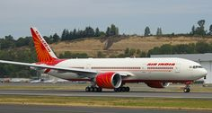 FlightMode: Air India will soon fly over Pacific Ocean to San Francisco - Saving fuel costs & time Air India, Boeing 777, Pacific Ocean, San Francisco
