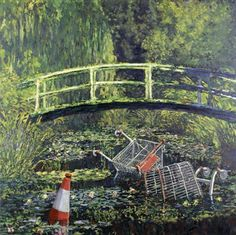 Show Me the Monet by Banksy (2005)