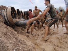 I get by with a little help from my friends - Tough Mudder Cleveland