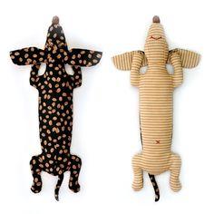 картинка Набор для изготовления текстильной игрушки Кофейная Такса магазин Я творю