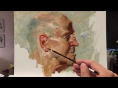 Kimberly, 140 minutes alla prima painting from live model by Zimou Tan - YouTube