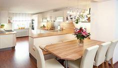 Classic Style Kitchen Furniture Timeless Furniture For Your Home Kitchen Nook, Kitchen Living, New Kitchen, Kitchen Decor, Open Plan Kitchen Diner, White Marble Kitchen, Kitchen Photos, Küchen Design, Modern Kitchen Design