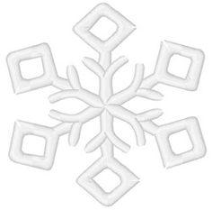 Winter Snowflake machine embroidery design from embroiderydesigns.com Snowflake Embroidery, Winter Nail Designs, Winter Nails, Machine Embroidery Designs, Snowflakes, Cool Stuff, Snow Flakes
