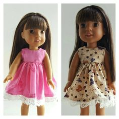 A personal favorite from my Etsy shop https://www.etsy.com/listing/490080235/14-and-145-inch-doll-clothing-dress