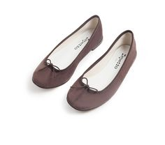Repetto Brown Ballet Flats: $295.00
