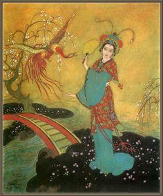 Edmund Dulac : The Princess Badoura