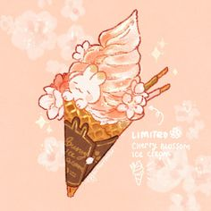 Cute Animal Drawings Kawaii, Cute Food Drawings, Kawaii Chibi, Kawaii Art, Food Illustrations, Illustration Art, Cute Art Styles, Kawaii Wallpaper, Anime
