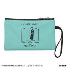 For best results, read DAILY.  Bag
