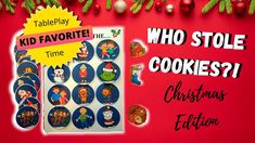 🎄 Who Stole the Cookies (Christmas Edition) | Kids Hide-and-Seek Rhyme Song Game 🎅 Who stole the (cookies, presents, or christmas stocking)? Was it the Elves? The Christmas Carolers? The adults? Enjoy hours of fun with your little ones with this simple fun Christmas holiday tableplay game! #kidschristmasprintable #musicalplayday #powerofmusicalplay #christmassong #kidschristmasgame #kidschristmasactivity #tableplay