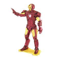Metal Earth 3D Laser Cut Model Kit Marvel Avengers Iron Man