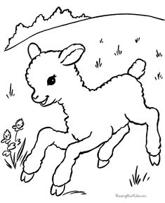 colouring pages for easter
