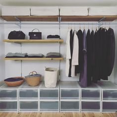 2016.10.2 ・ 少しずつ衣替え ・ ・ 夏の終わりと服の終わりに 断捨離を兼ねて衣替え ・ とりあえず私の服から 服物を出すのはワクワクします ・ 息子と旦那の服はボチボチと ・ ・ #衣替え#服の部屋#衣装部屋 #収納#無印#無印良品 #eba暮らし#eba住