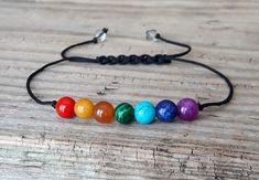 Chakra bracelet yoga bracelet seven chakra bracelet gemstone
