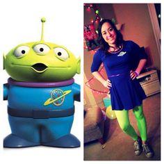 Toy story alien costume!  sc 1 st  Pinterest & DIY: Toy Story Alien Costume u2026 | costumes | Pinteu2026