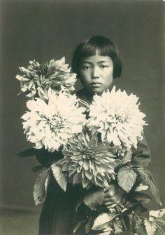Yayoi Kusama aged 10