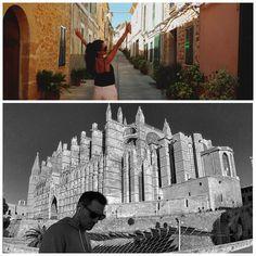 Unes fotos genials #Mallorca @mfeliu10 @n3ruda #Mallorca #mallorcatestim #mediterrani #igersmallorca #MEMallorca #balearsgrafias #seu #palma #instapicture by memallorca