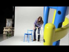 Watch this video to learn how a father and an apple became the inspiration for making the IKEA PS stool more functional for your home.