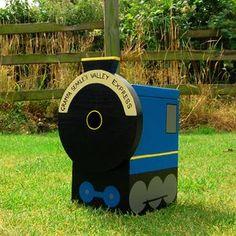 Steam Train Personalised Bird Box - small animals & wildlife
