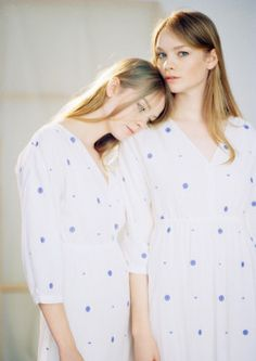 & Other Stories | We captured twin sisters Gwen and Donna Loos in this season's most poetic pieces.