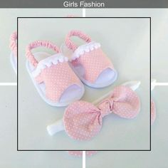 Baby Doll Shoes, Felt Baby Shoes, Cute Baby Shoes, Doll Shoe Patterns, Baby Shoes Pattern, Baby Dress Patterns, Little Girl Shoes, Girls Shoes, Baby Frocks Designs