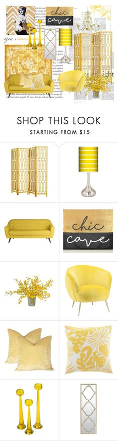 """Chic Cave"" by sherrysrosecottage-1 ❤ liked on Polyvore featuring interior, interiors, interior design, home, home decor, interior decorating, Eichholtz, Giclee Glow, The French Bee and Tommy Bahama"