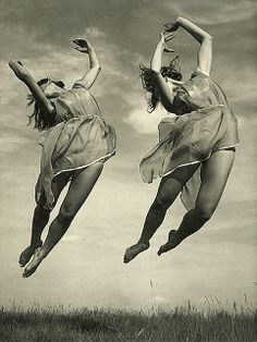 """Swallows"" (1930s) by photographer Vladimir Tolman. via art & vintage on flickr"