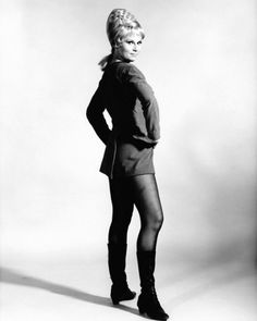 Grace Lee Whitney as Yeoman Rand from Star Trek