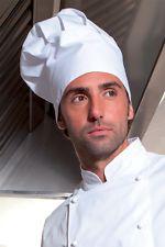 PAGAMENTO ANCHE ALLA CONSEGNA Cappello Berretto Cuoco Unisex Cucina Chef Ristorante - Abiti da Lavoro
