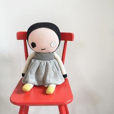 Bad Eye Lilly by Lucky Boy Sunday. MINIM Kids Concept Store, Bangkok, Thailand.