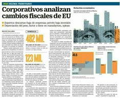 Corporativos analizan cambios fiscales de EU