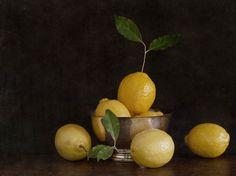 Still Life with Lemons - by Jefferson Hayman, 2017