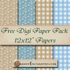 Advertisement       -->             Freebie Paper Pack:     Download this Paper Pack Here.   In Google Docs/Drive Choose File and Downlo...