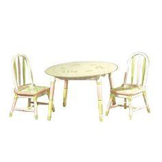 Teamson Kids Pink Crackle Childrens Chair Set $127 wal mart