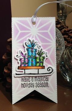 In My Creative Opinion: The 25 Days of Christmas Tags Just One More - Day 26 25 Days Of Christmas, Christmas Tag, Christmas Ornaments, One More Day, Seasons, Tags, Holiday Decor, Creative, Xmas Ornaments
