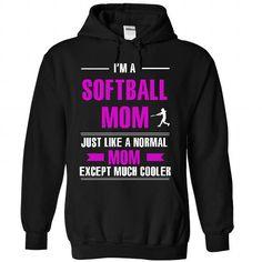 softball mom is cooler T Shirts, Hoodies, Sweatshirts. CHECK PRICE ==►…