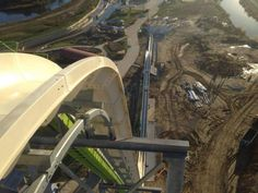 The Mighty Verruckt: World's Tallest Waterslide Being Constructed At Kansas City Waterpark