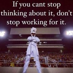 Just had my drum major audition today... Ohhh, so excited to hear the results next week!