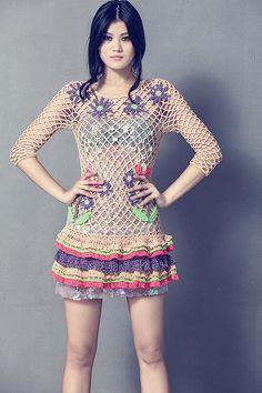 Fabulous 2015 #Crochet #Fashion from CeliaB