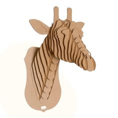 Juliette Jr - Medium Giraffe Bust - Brown or White