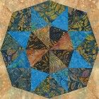 Four Lakes of Madison Quilt Block Pattern