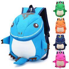 Kids Safety Harness Backpack Toddler Cartoon Design Walking Keeper Strap Bag New #Unbranded