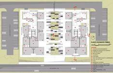 3º Lugar no concurso CODHAB-DF para edifícios de uso misto em Santa Maria,Planta Baixa - Térreo. Image Cortesia de AGA – Alexandre Gonçalves Arquitetura