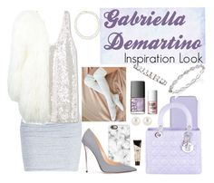 """""""Gabriella Demartino Inspiration Look"""" by mgldemartino ❤ liked on Polyvore featuring Henri Bendel, James Perse, MANGO, Casetify, Christian Dior, Jimmy Choo, Givenchy, Philipp Plein, Benefit and Chico's"""