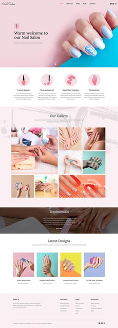 The Hot Nail Salon is a responsive #Joomla! #template appropriate for the development of websites for #nailsalon for ladies and for houses of beauty. Website Design Inspiration, Design Ideas, Joomla Templates, House Of Beauty, Hot Nails, Site Web, Inspirational Videos, Website Template, Banner Design